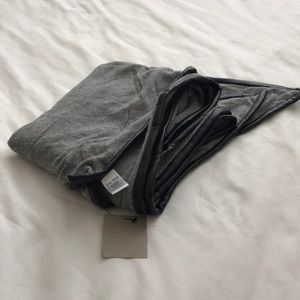 Nordstrom Accessories - NWT Nordstrom Knit Scarf with Faux Leather Trim